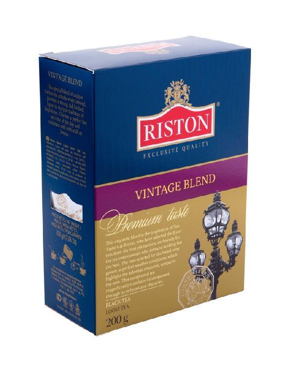 черный листовой цейлонский чай Vintage Boulevard купить